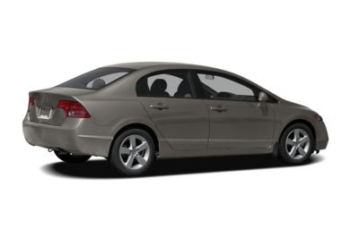3/4 Rear Glamour  2007 Honda Civic