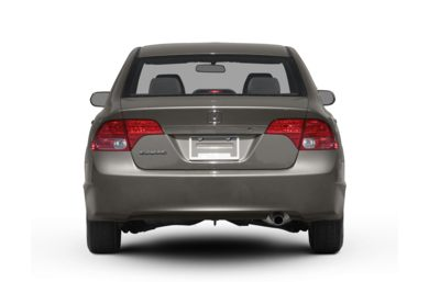 Rear Profile  2007 Honda Civic