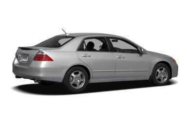 3/4 Rear Glamour  2007 Honda Accord Hybrid