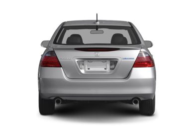 Rear Profile  2007 Honda Accord Hybrid