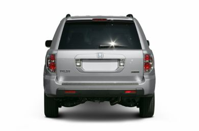 Rear Profile  2007 Honda Pilot