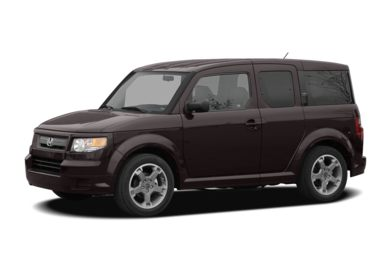 3/4 Front Glamour 2007 Honda Element