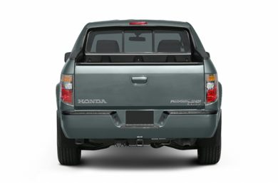 Rear Profile  2007 Honda Ridgeline
