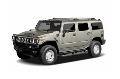 3/4 Front Glamour 2007 HUMMER H2 SUV