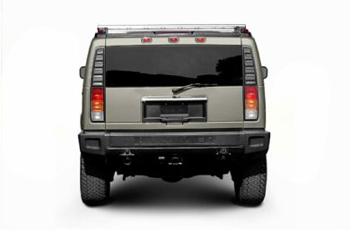 Rear Profile  2007 HUMMER H2 SUV