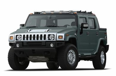 3/4 Front Glamour 2007 HUMMER H2 SUT