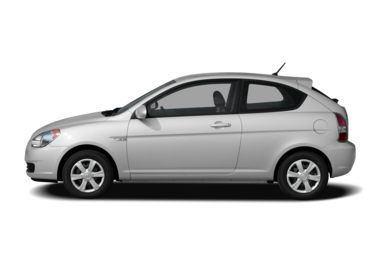 90 Degree Profile 2007 Hyundai Accent