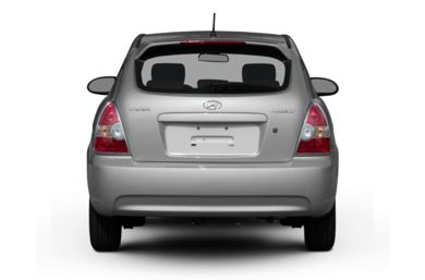 Rear Profile  2007 Hyundai Accent