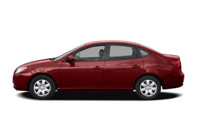 90 Degree Profile 2007 Hyundai Elantra