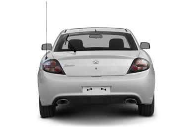 Rear Profile  2007 Hyundai Tiburon