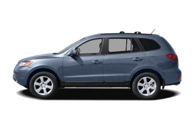 90 Degree Profile 2007 Hyundai Santa Fe