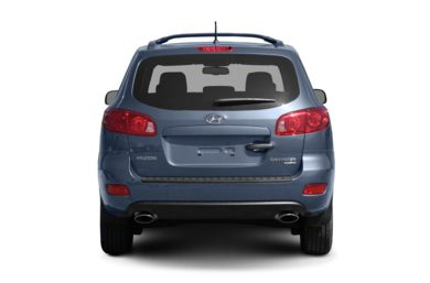 Rear Profile  2007 Hyundai Santa Fe