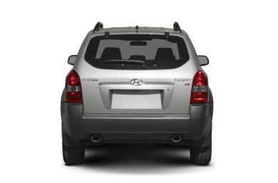 Rear Profile  2007 Hyundai Tucson