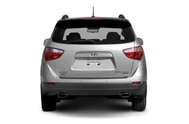 Rear Profile  2007 Hyundai Veracruz