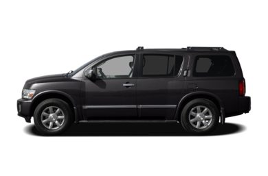 90 Degree Profile 2007 Infiniti QX56