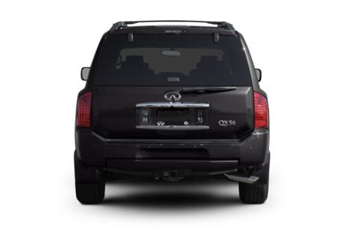 Rear Profile  2007 Infiniti QX56