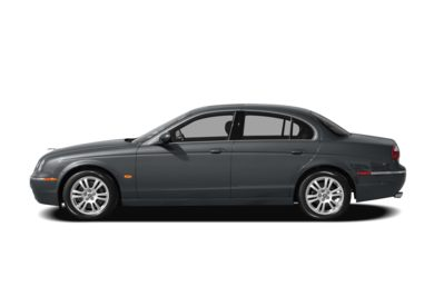 90 Degree Profile 2007 Jaguar S-TYPE