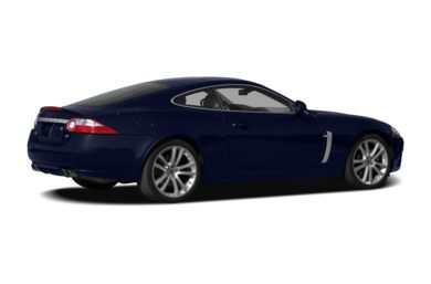 3/4 Rear Glamour  2007 Jaguar XKR