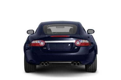 Rear Profile  2007 Jaguar XKR
