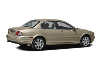 3/4 Rear Glamour  2007 Jaguar X-TYPE