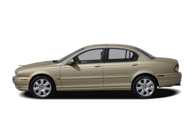 90 Degree Profile 2007 Jaguar X-TYPE