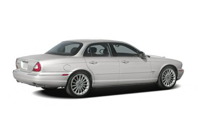 3/4 Rear Glamour  2007 Jaguar XJ
