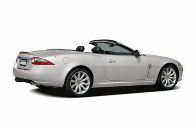 3/4 Rear Glamour  2007 Jaguar XK