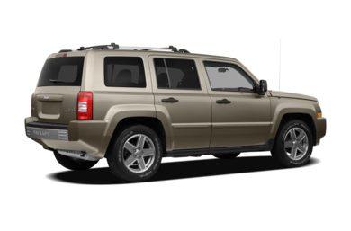 3/4 Rear Glamour  2007 Jeep Patriot