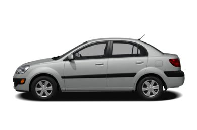 90 Degree Profile 2007 Kia Rio