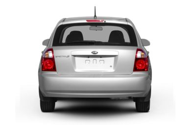 Rear Profile  2007 Kia Spectra5