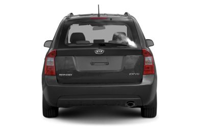 Rear Profile  2007 Kia Rondo