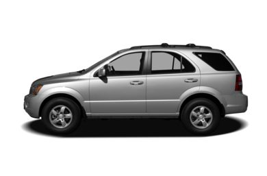 90 Degree Profile 2007 Kia Sorento