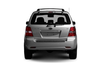 Rear Profile  2007 Kia Sorento