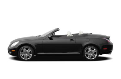 90 Degree Profile 2007 Lexus SC 430