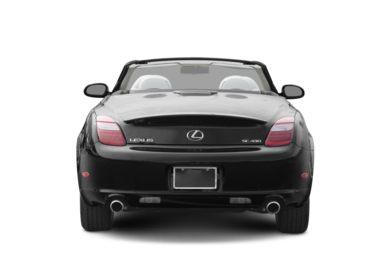 Rear Profile  2007 Lexus SC 430