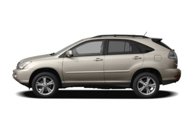 90 Degree Profile 2007 Lexus RX 400h