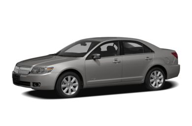 3/4 Front Glamour 2007 Lincoln MKZ