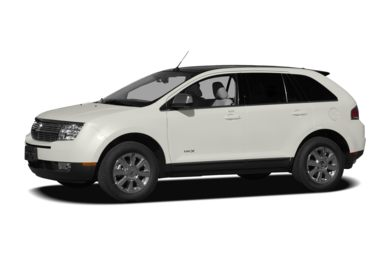3/4 Front Glamour 2007 Lincoln MKX