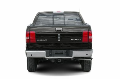 Rear Profile  2007 Lincoln Mark LT