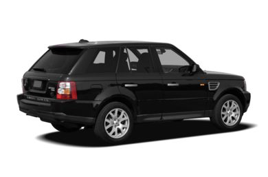 3/4 Rear Glamour  2007 Land Rover Range Rover