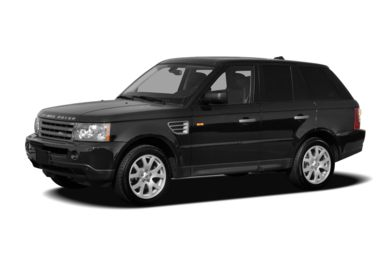 3/4 Front Glamour 2007 Land Rover Range Rover Sport