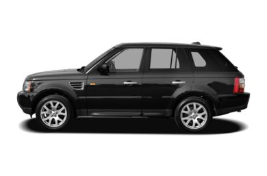 90 Degree Profile 2007 Land Rover Range Rover Sport