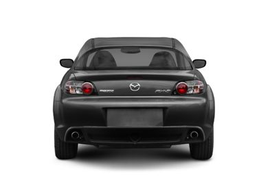 Rear Profile  2007 Mazda RX-8
