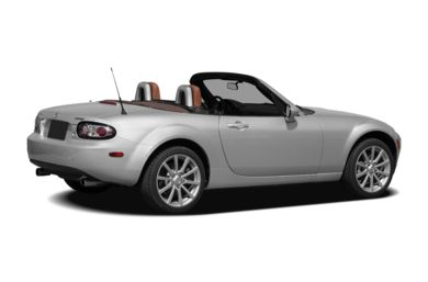 3/4 Rear Glamour  2007 Mazda MX-5