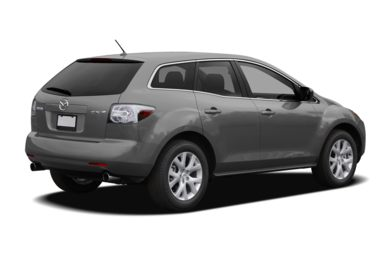 3/4 Rear Glamour  2007 Mazda CX-7