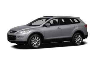 3/4 Front Glamour 2007 Mazda CX-9
