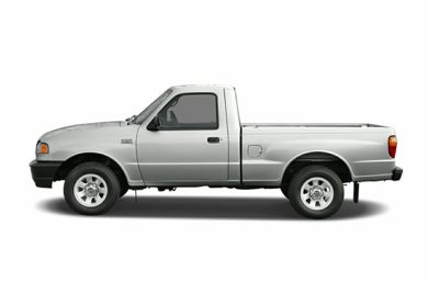 90 Degree Profile 2007 Mazda B3000