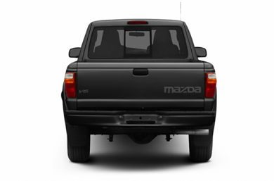 Rear Profile  2007 Mazda B4000