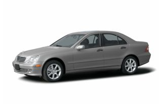 3/4 Front Glamour 2007 Mercedes-Benz C280
