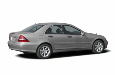 3/4 Rear Glamour  2007 Mercedes-Benz C280